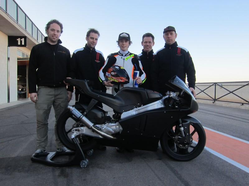 Philipp Öttl und sein Team